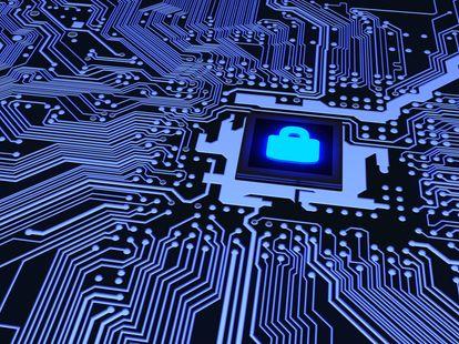 cybersecurity afbeelding bevede