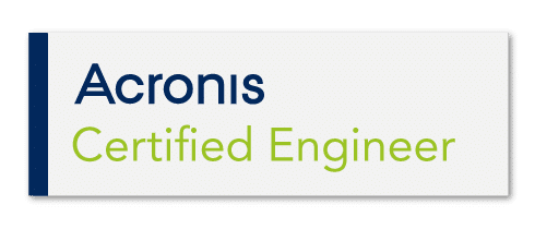 acronis gecertificeerde medewerkers